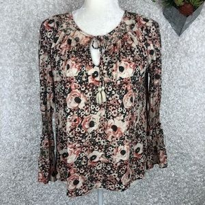 Lucky Brand Peasant Top | M